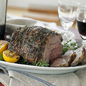 Roasted Italian Leg of Lamb
